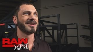 A fired-up Austin Aries prepares for his most unusual interview yet: Raw Fallout, Mar. 6, 2017