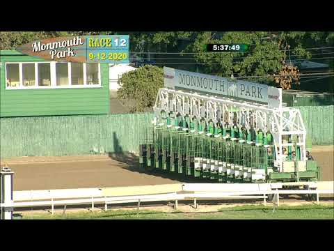 video thumbnail for MONMOUTH PARK 09-12-20 RACE 12