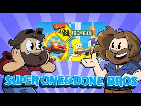 One and Done  | Let's Play: The Simpsons: Hit and Run | Super Beard Bros.