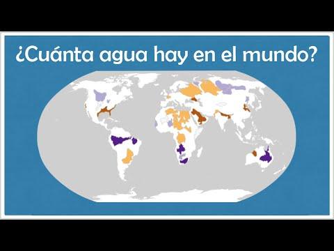 CUÁNTA AGUA HAY EN EL MUNDO? - YouTube