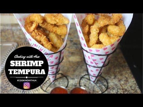 How to make Shrimp Tempura - Cooking with Hua