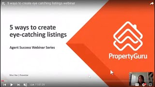 5 ways to create eye catching listings webinar