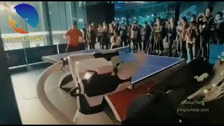 Использование техники в настольном теннисе