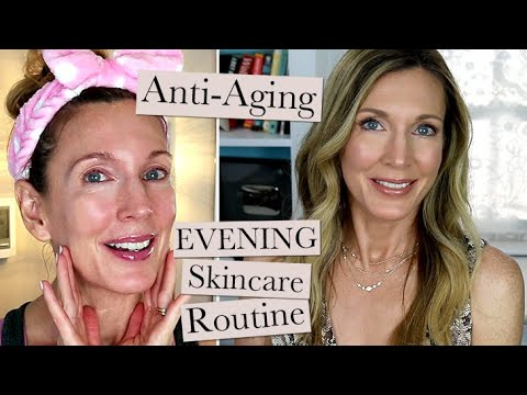 evening-anti-aging-skincare-routine!