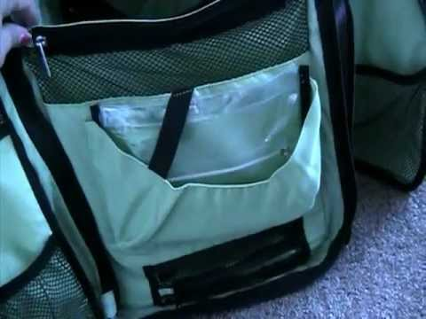 Okkatots Travel Baby Depot Bag Review and Giveaway!