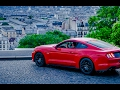 Ford Mustang V8 Races Through the Streets of Paris 360 VR - Inside Lane