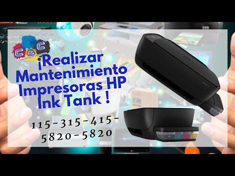 Como Realizar Desarmado, Desmontado y Mantenimiento de HP Ink Tank 115- 315 - 415 - 5820 - 5820