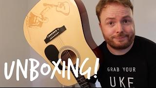 JEFF JARRETT (TNA/WCW/WWE WRESTLER) GUITAR UNBOXING VIDEO!