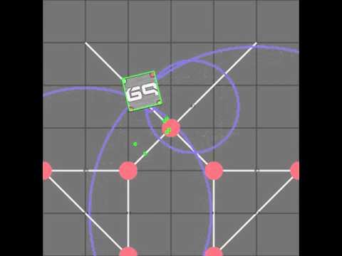 robot position line correction demo