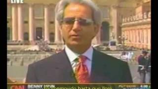 Benny Hinn - CNN interview | Funeral Pope John Paul II