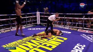 brutal ko from daniel dubois to win southern area heavyweight title at only 20 years old