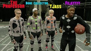 BTS NBA LIVE '19... The Professor, Bone Collector, TJass and Filayyyy. INSANE MOVES captured Video