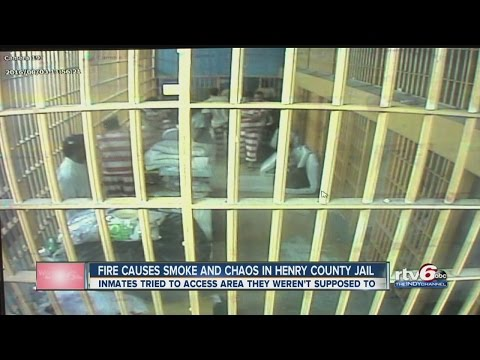 Fire causes smoke and chaos in Henry County Jail
