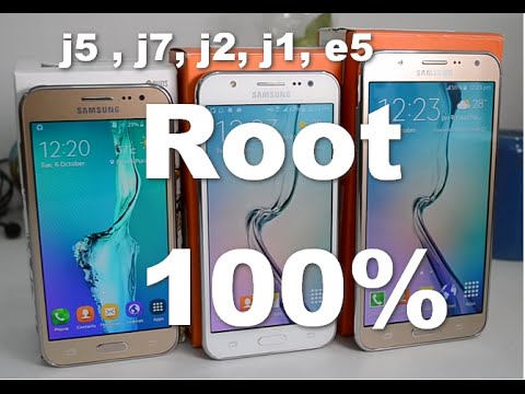How To Root Samsung Galaxy J5 | J7 | J2 | E5 | J1 Android Lollipop 5 1 1