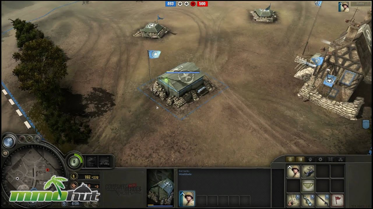 Company Of Heroes Online Gameplay First Look Hd Youtube