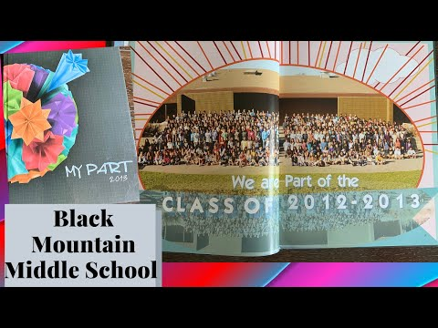 Black Mountain Middle School 2013 Yearbook Tour ~ San Diego, California ~