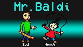 NEW Among Us BALDI'S BASICS ROLE?! (Creepypasta Mod)