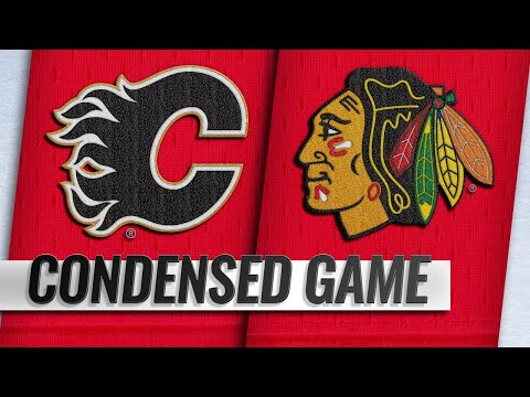 01/07/19 Condensed Game: Flames @ Blackhawks