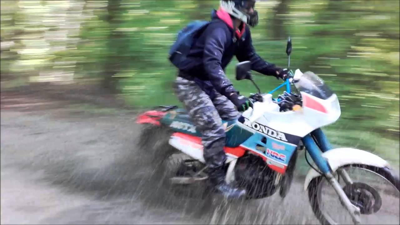 enduro ride honda mtx 125 rally sport youtube. Black Bedroom Furniture Sets. Home Design Ideas