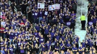 Crowd at KU KSU game 2012