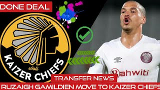 Ruzaigh Gamildien move to kaizer chiefs - YouTube