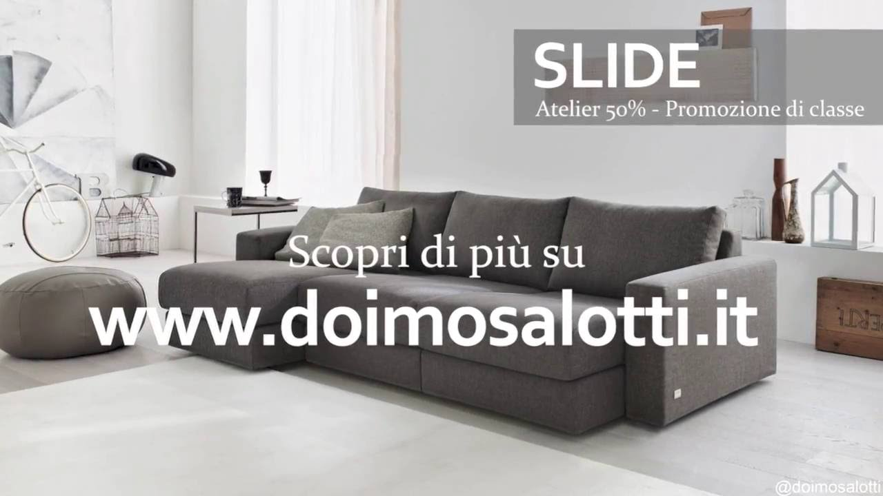 Storie di divani - SLIDE - Doimo Salotti - YouTube