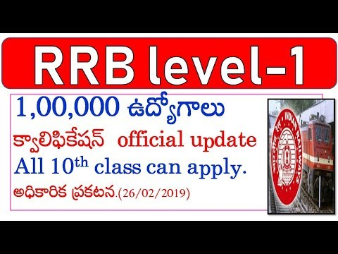 RRB LEVEL 1 POSTS EDUCATION QUALIFICATION DETAILS||sathish edutech