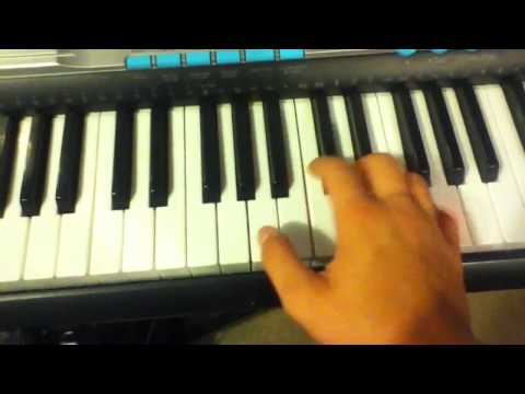 How to play intro to diary of Jane on piano