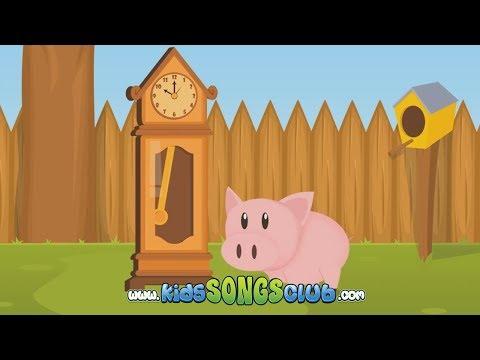 HICKORY DICKORY DOCK plus CHRISTMAS SONGS! KidsSongsClub