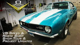 Muscle Car Restoration Shop Tour V8 Speed & Resto Shop November 2018 V8TV