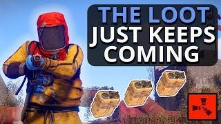 The JUICY LOOT Keeps Coming From These AMAZING RAIDS!! Rust Survival Gameplay