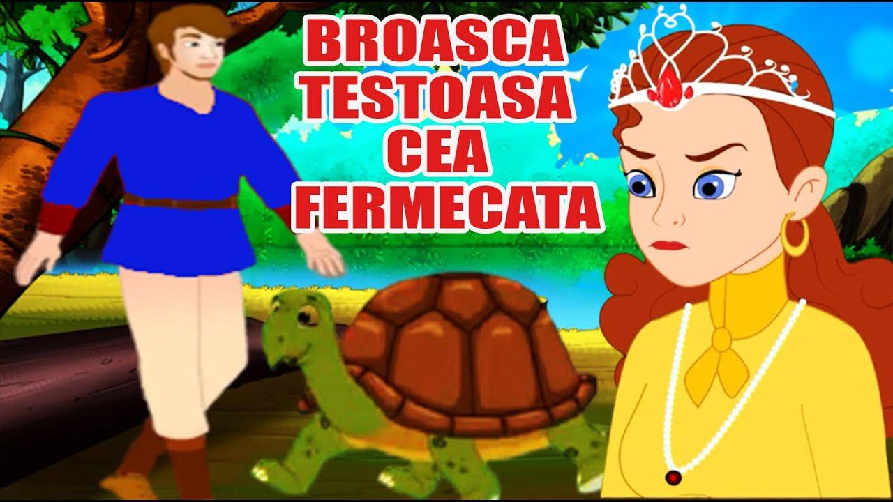 BROASCA TESTOASA CEA FERMECATA, DE PETRE ISPIRESCU - POVESTI PENTRU COPII - BASME in LIMBA ROMANA