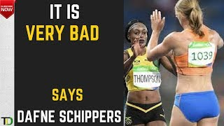"""DAFNE SCHIPPERS admits to """"BAD RELATIONSHIP"""
