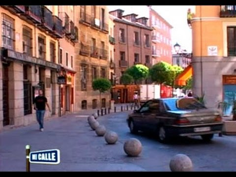La calle Cuchilleros de Madrid
