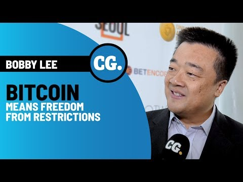 BTCC's Bobby Lee: The Essence Of Bitcoin Is That Now Information Is Money