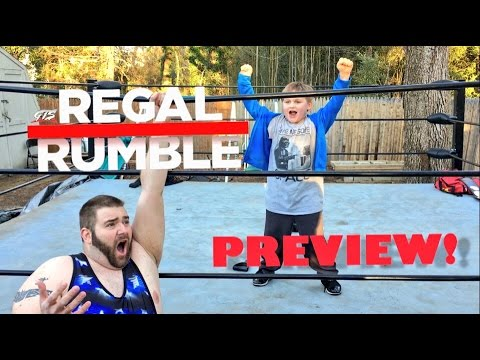LITTLE KID ELIMINATES GRIM IN GTS REGAL RUMBLE BATTLE ROYAL MATCH!