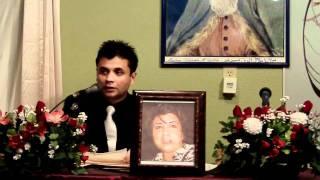 Razm Afarin Farkhari- declaiming Arsalan