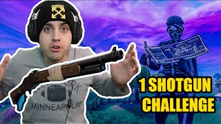 WIN MONO ME TO NEW SHOTGUN ! (Fortnite Greek)