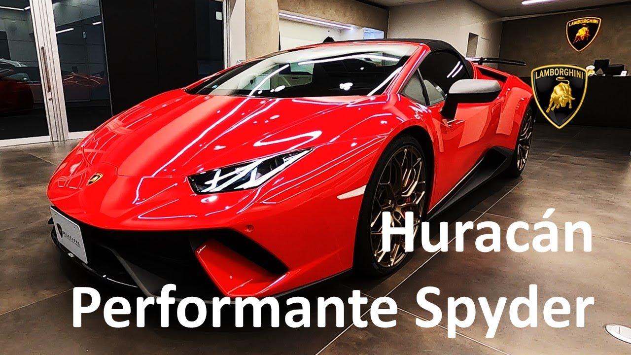 パワーアップしたV10 ウラカンの究極のハイパフォーマンスモデル ウラカン ペルフォルマンテ スパイダー  認定中古車(SELEZIONE)_08