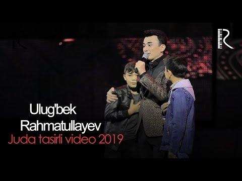 Ulug'bek Rahmatullayev Konsertidan juda tasirli video 2019