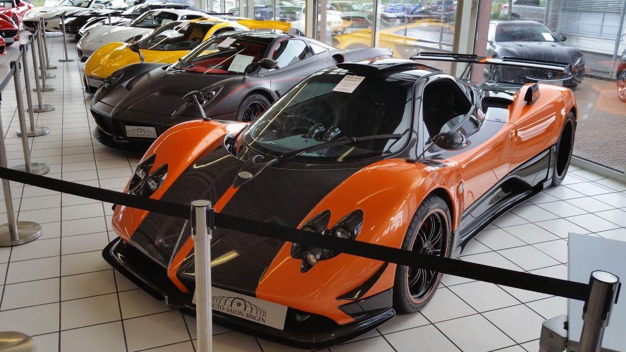 Auto Salon Singen: Europe\'s Best Exotic Car Dealership? - YouTube