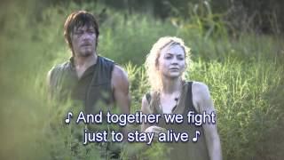 Struggling Man - Beth Greene (Emily Kinney) - The Walking Dead Song