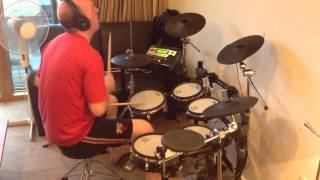 R.E.M. - Strange Currencies (Roland TD-12 Drum Cover)