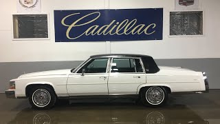 1989 Cadillac Brougham For Sale By Specialty Motor Cars