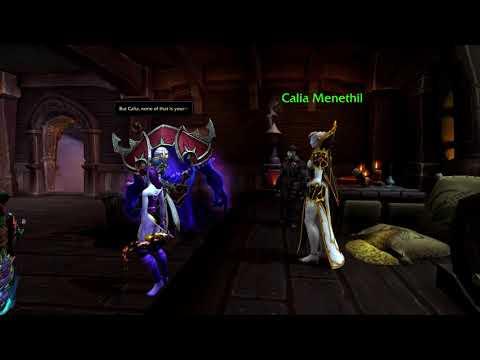 Calia Menethil The New Forsaken Leader - Patch 8.3 Questline (Alliance)