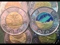 2015-2017 Commemorative Two Dollar Canadian Coins