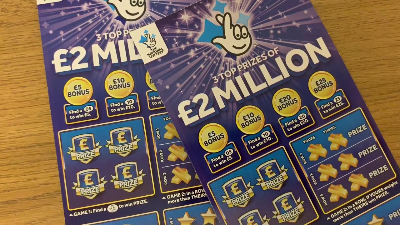 2 Million £5 Scratchcards Review ...UK Lotterry Scratch Cards, January 2020  - YouTube