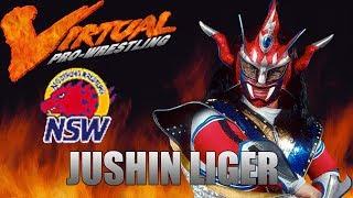 Virtual Pro Wrestling PSX - NSW (NJPW) Title - JUSHIN LIGER (1080p 60fps)