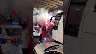 Video 168   3.Lig 2.Grup'ta Play-Off'a kalan Karşıyaka'da Taraftarların Havalimanındaki Coşkusu🔥