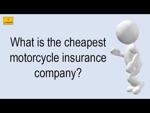 what-is-the-cheapest-motorcycle-insurance-company?